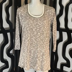Maurices Plus Size 3/4 Sleeve Sweater Blouse